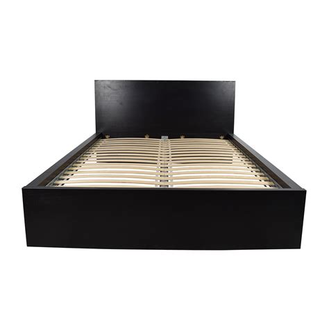 ikea bed frames queen full queen king beds frames ikea 86 off full size brown wood bed frame beds