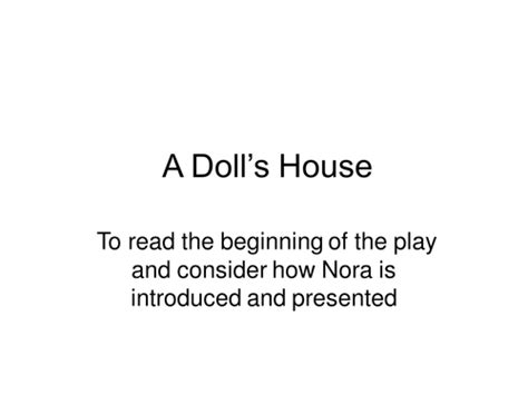 a doll s house full text a doll s house act 1 ibsen by uk teaching resources tes
