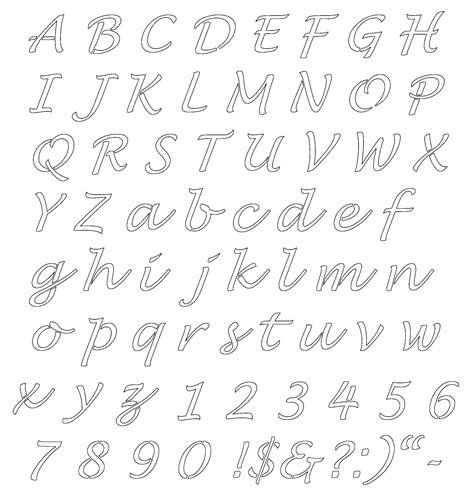 printable letters of the alphabet free printable letters activity shelter