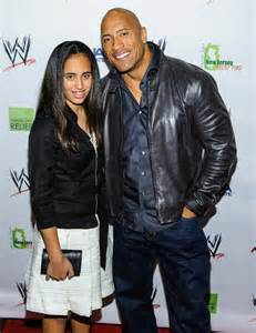 The rock and wife spend 5000 each on daughters trust fund
