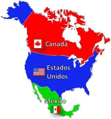 mapa politico de america con todos los paises pa 237 ses de am 233 rica norte saber es pr 225 ctico