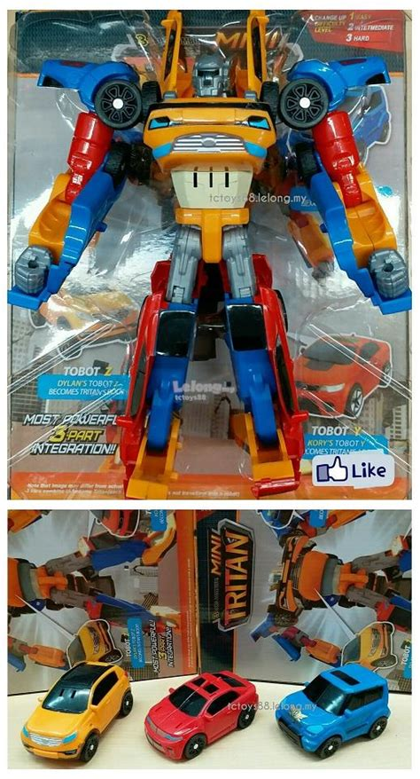 Robot Tobot Titan Besar tobot mini titan mini tritan magic