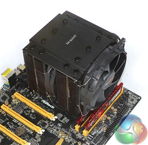 Cooler Cpu Fan Bequet Rock Pro3 Dual Fan be rock pro 3 cpu cooler review kitguru
