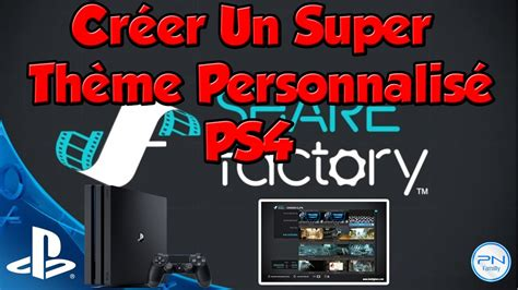 download ps4 themes on pc cr 233 er un super th 232 me personnalis 233 ps4 youtube
