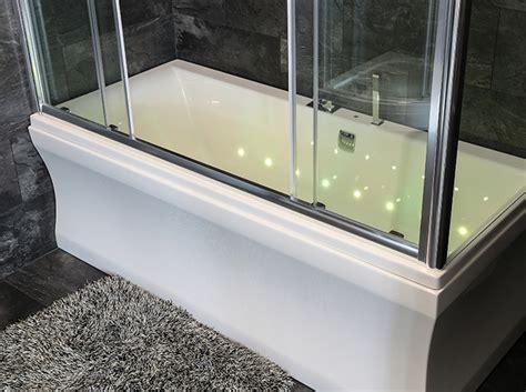 Glas Duschwand Für Badewanne by Duschabtrennung Schiebet 195 188 R 3 Teilig Schiebet 252 R 3 Teilig