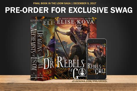 the rebels of gold loom saga books the rebels of gold media kit elise kova