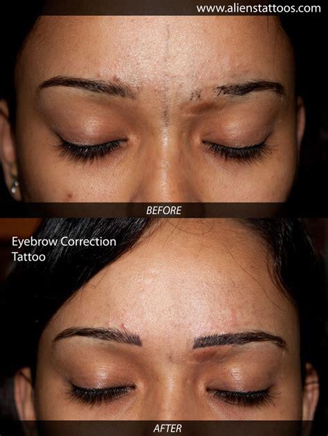 Tattoo Eyebrows Correction | tattoo style makeup tattoo
