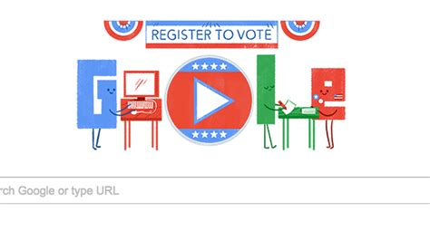 doodle to vote will help you register to vote with a new doodle
