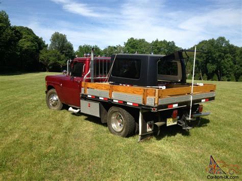 Rack Truck For Sale dually rack