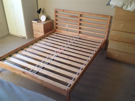 ikea tarva bed frame painted nazarm com ikea tarva queen size pine bedframe downtown london london