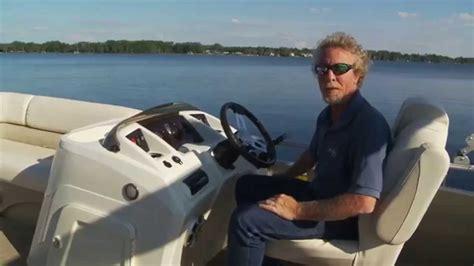 bennington pontoon boat test bennington 24 ssrx pontoon boat test youtube