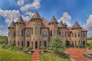 castle homes 19 000 square foot castle like brick mansion in