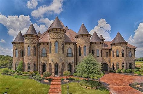 houses for sale in southlake tx 19 000 square foot castle like stone brick mansion in southlake tx homes of the rich