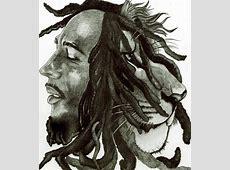 Bob Marley Lion Drawing