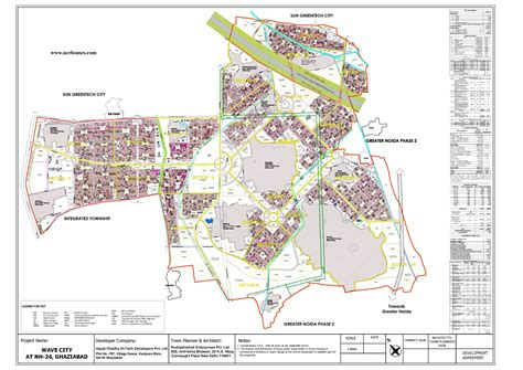 layout plan of wave city ghaziabad wave city ghaziabad hi tech city making waves ncrhomes