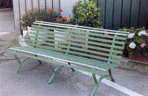 panchina ferro image gallery