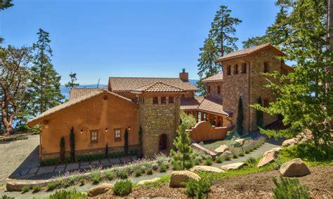 the tuscan house mayne island dream villa eldorado stone