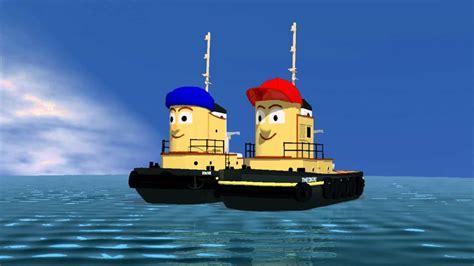 tugboat cartoon movie theodore tugboat cgi floating preview youtube