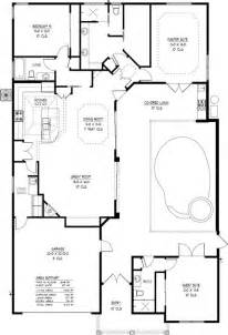 House Plans With A Pool by Courtyard House Plans With Pool Indoor Outdoor Living In