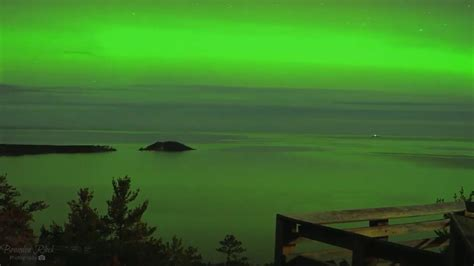best time to see northern lights in michigan 2017 northern lights time lapse shows the beauty of the aurora