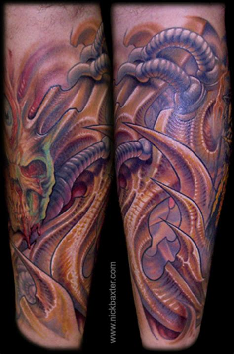biomech by nick baxter tattoos