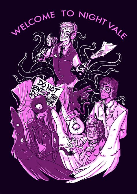 50 pieces of beautifully strange �welcome to night vale