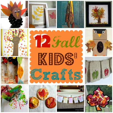 crafts for fall decorations 12 fall kids crafts kidsncoupons