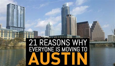 reasons to move to austin 21 reasons why everyone is moving to austin 2016 edition