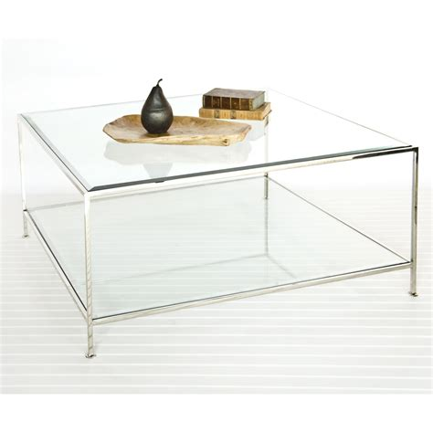 glass living room table design glass table