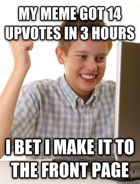 Create Internet Meme - livememe com first day on the internet kid