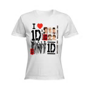 One direction t shirts for girls one direction t shirt i love 1d mens