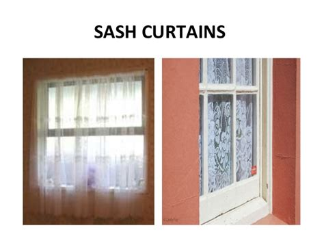 sash curtains window treatment