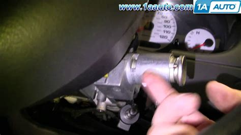 2003 Dodge Neon Key Replacement How To Install Repair Replace Ignition Key Lock Cylinder