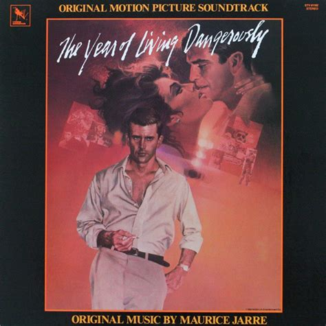 the year of living maurice jarre the year of living dangerously original motion picture soundtrack vinyl lp