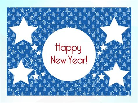 new year card template free new year card template vector graphics freevector