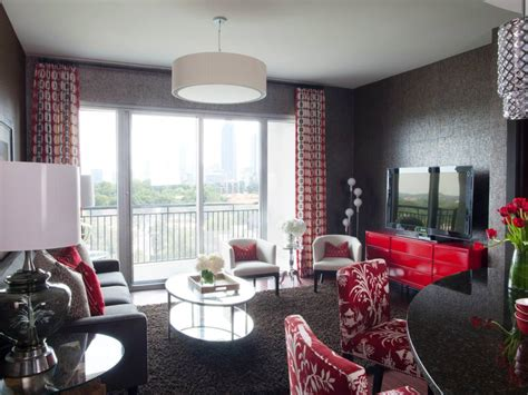 red and gray living room 25 red living room designs decorating ideas design