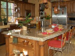 kitchen island countertop overhang country kitchen island