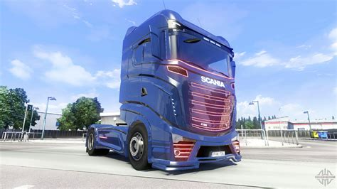 scania r1000 concept v2 2 for truck simulator 2