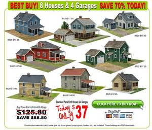 house models and plans railroad model buildings scale houses 8 house models