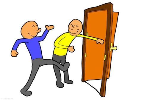 Holding Door by The Lighter Side The Etiquette Of Door Holding