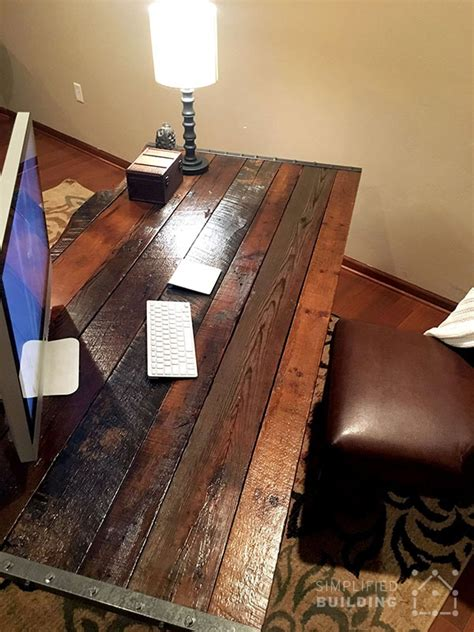 diy rustic desk plans to build your own simplified building