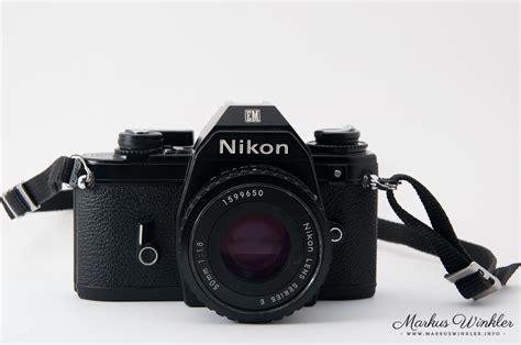 Kamera Nikon Em nikon em eine kleinbild slr nikon f 252 r einsteiger und amateure