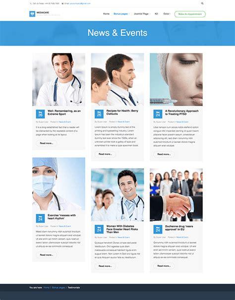 ja medicare responsive joomla template joomla
