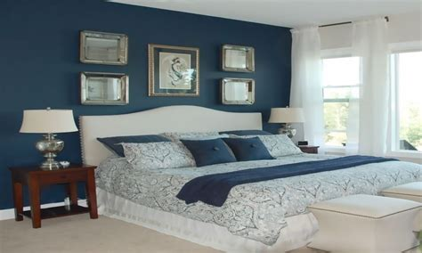 blue master bedrooms dark blue master bedroom
