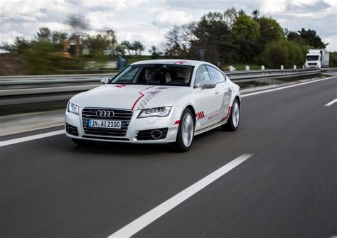 Audi Drives Itself by Meet The Audi A7 That Drives Itself Auto News