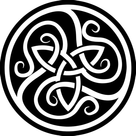 celtic circle tattoo design tattooshunt com