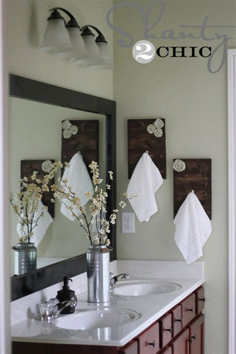 where to put hand towel in bathroom diy towel racks for a chic bathroom update
