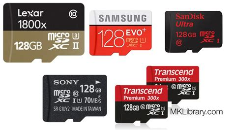 best sd cards best microsd cards fastest microsd cards updated
