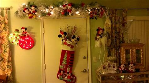 minnie and mickey christmas decorations christmas doors