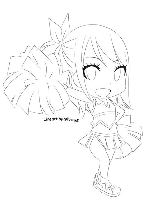mlp chibi coloring pages chibi lucy lineart by silvase on deviantart